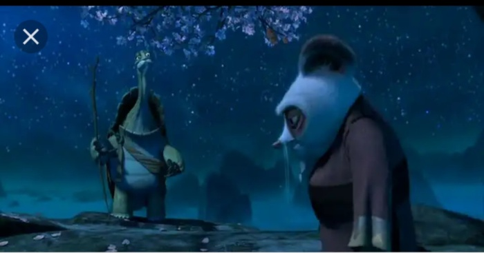 Master Oogway and Master Shifu