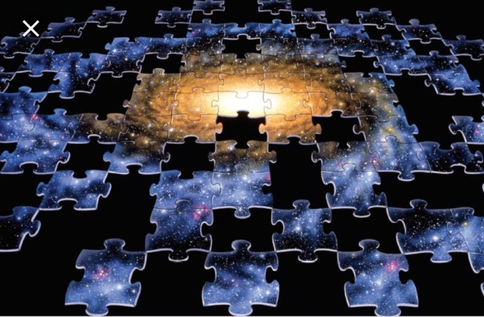 Galaxy as a puzzle