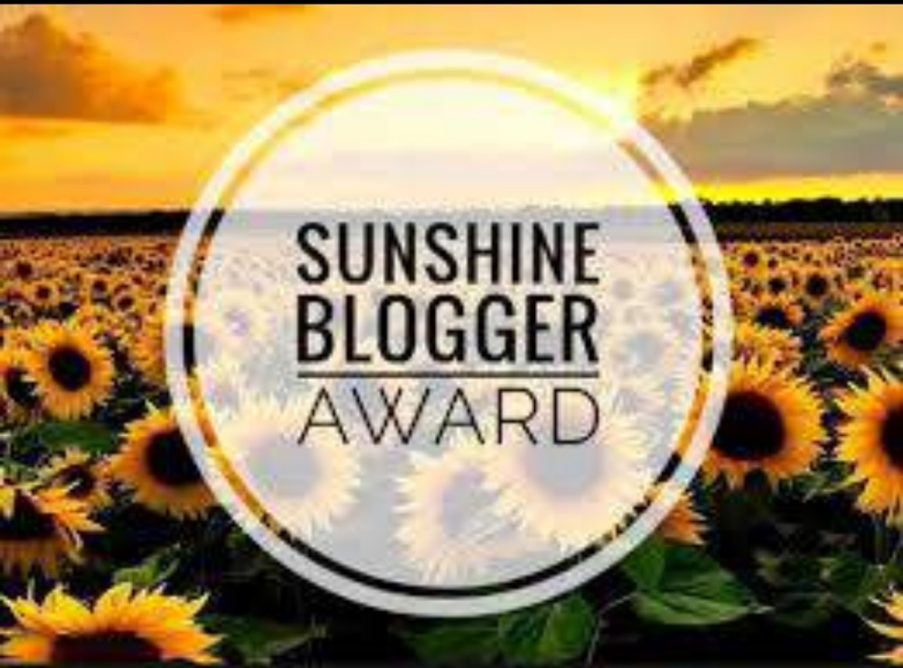 The Sunshine Blogger Award on WordPress