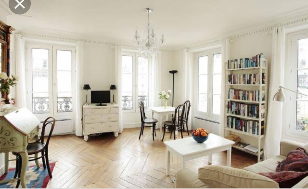 An apartment in Paris