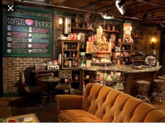 Central Perk cafe in NewYork City NYC, USA in America