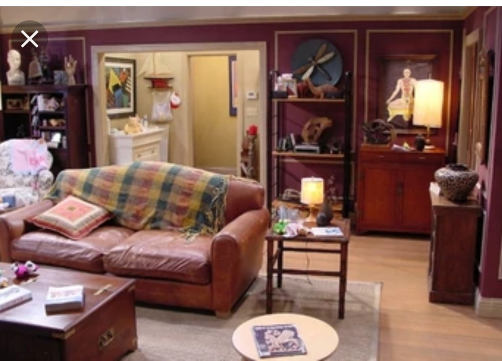 Friends Ross Geller room