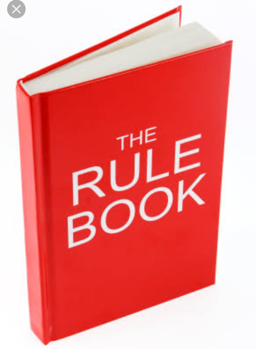 Rule book for WordPress blogging awards. Do's and don'ts in life
