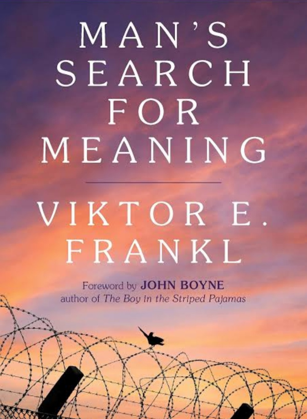 Man's search for meaning by Viktor E Frankl cover