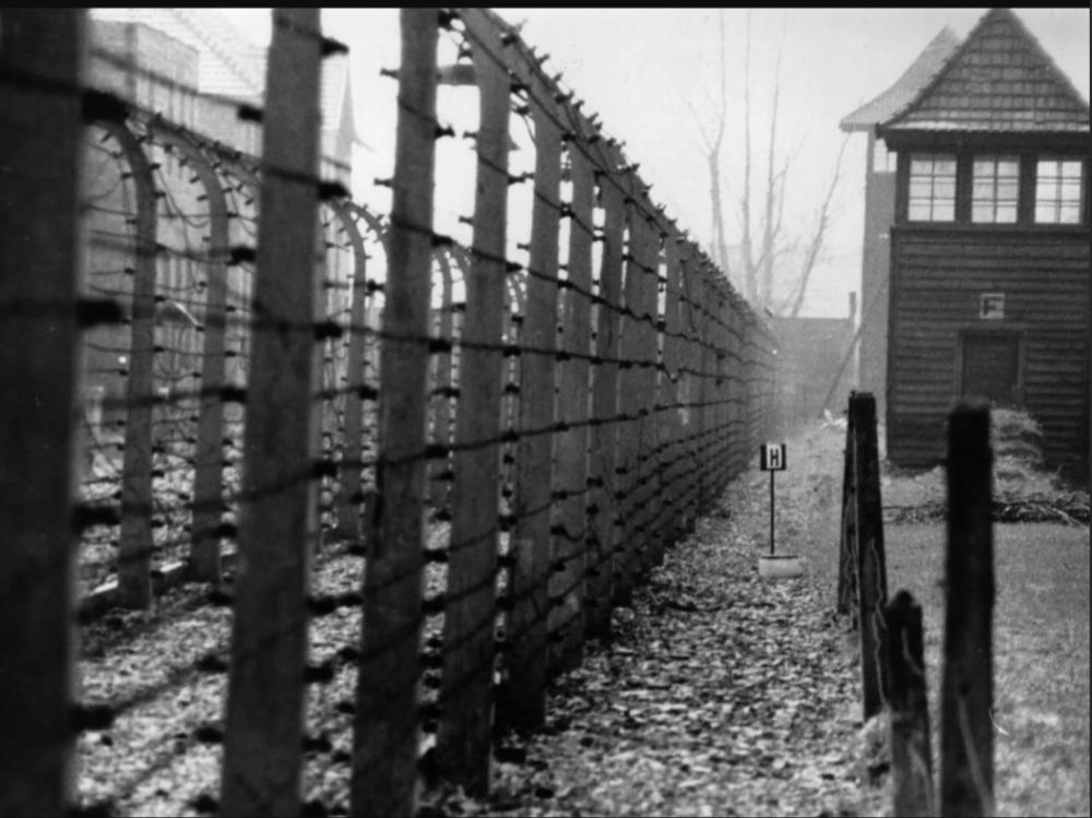 Dachau concentration camp in Bavaria, Munich, Germany in 1955