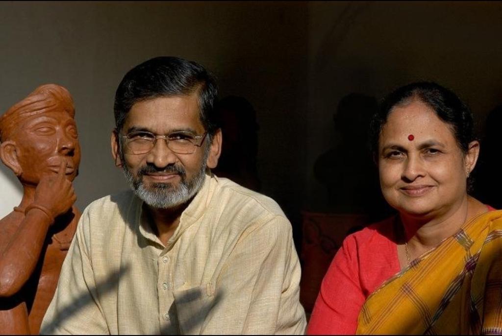 Dr. Abhay Bang and Dr. Rani Bang Search Shodhgram Nirman