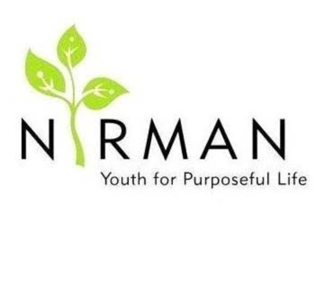Nirman youth for Purposeful Life logo