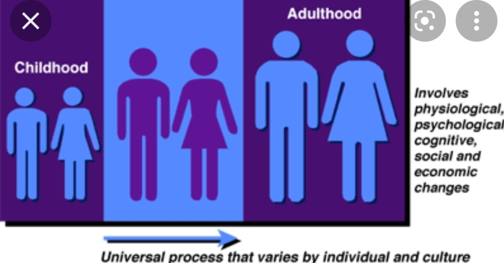 Emerging adulthood ages 18-29. Between childhood and adulthood.